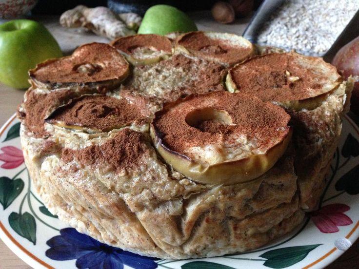 Een lekkere variant op de bekende appeltaart! Door de bijzondere smaak van haver een apart appeltaartje waar je mee voor de dag kan komen! Dit recept vraagt o