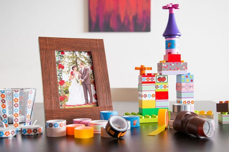 Znáte washi tape pásky? Máme pro vás 10 tipů, jak je doma využít! - Hobby