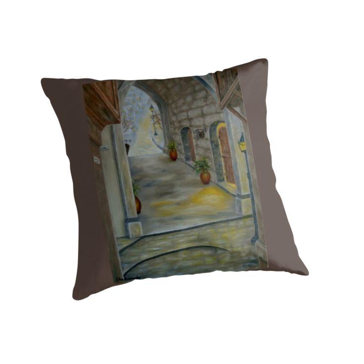 Medieval Theme, Throw Pillow