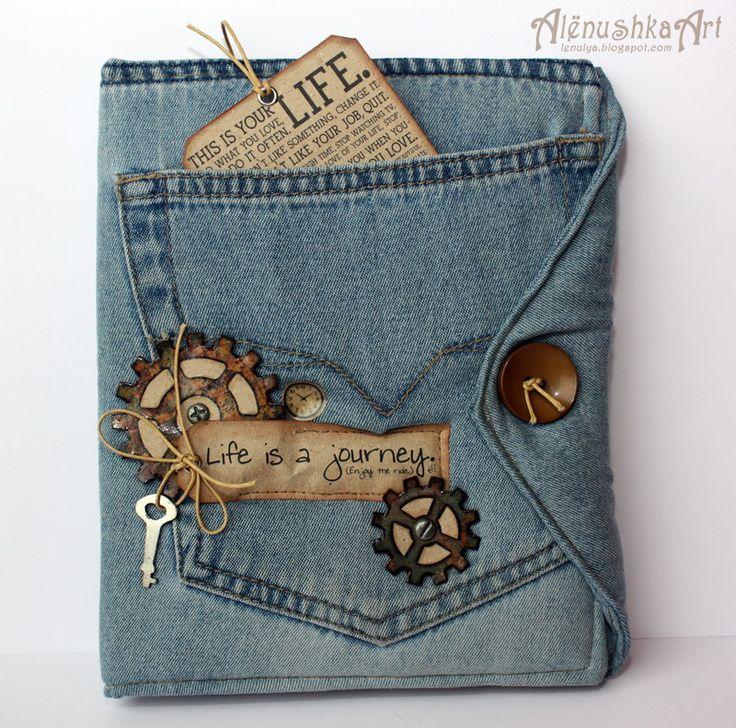 Пожеланиями, джинсовые открытки
