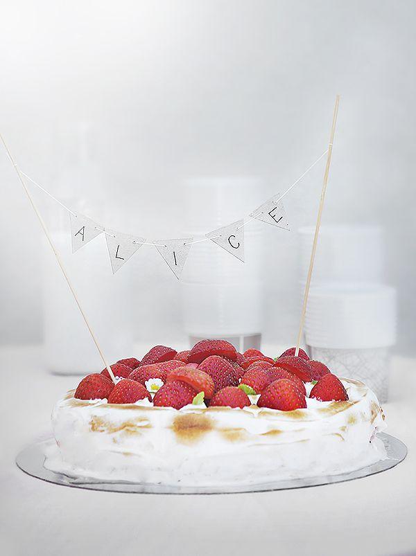 Cake topping idea - from trendenser.se