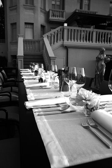 restaurant outside @Hotel Carducci76