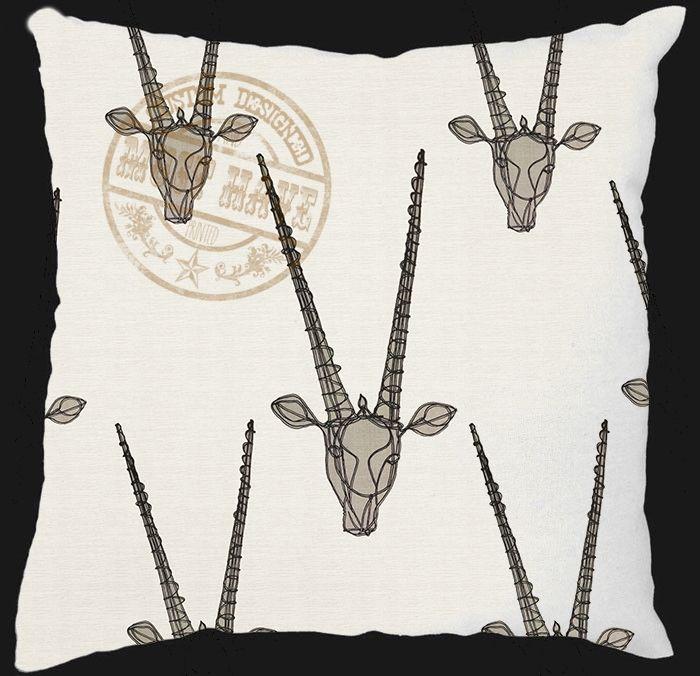 Must Have Custom Designed Decor, Scatter Cushion, designed to your taste colour and theme, sa design; bok kop reeks; afrikaans