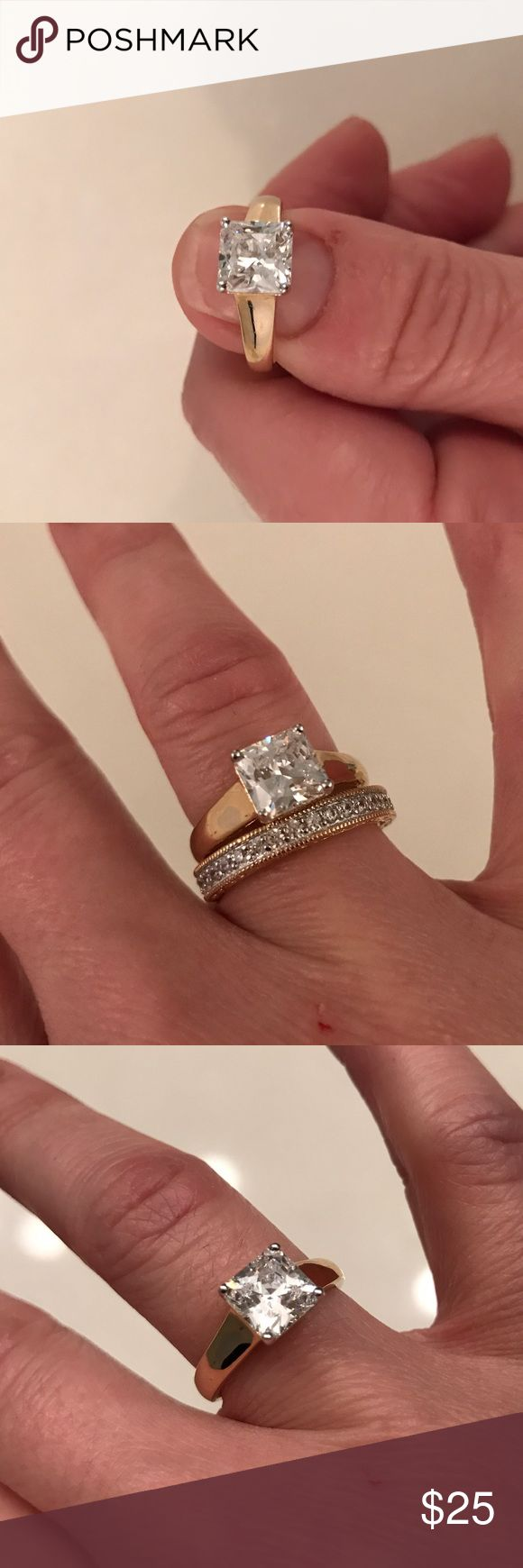 "Spotted while shopping on Poshmark: ""ABSOLUTE"" Diamond Solitaire! #poshmark #fashion #shopping #style #HSN #Jewelry"