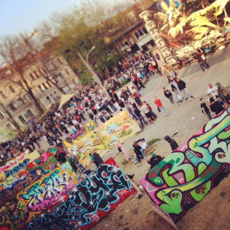 Graffiti contest in berlin .. Ich Bin ein berliner in berlin-ac