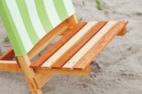 Folding beach chair woodworking plans 03