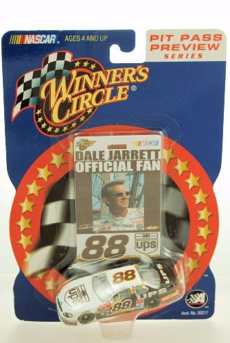 2002 - Action - Winner's Circle - NASCAR - Pit Pass Preview Series - Dale Jarrett #88 - UPS Racing - Ford Taurus - 1:64 Scale Die Cast - Limited Edition - Collectible
