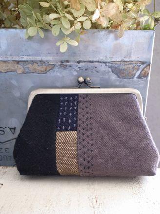 Embroidered purse, magari non con il metallo ma una semplice zip