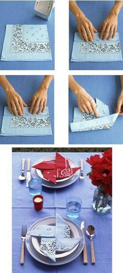 14 besten servietten falten bilder auf pinterest 30 jahre deb t ideen und basteln. Black Bedroom Furniture Sets. Home Design Ideas