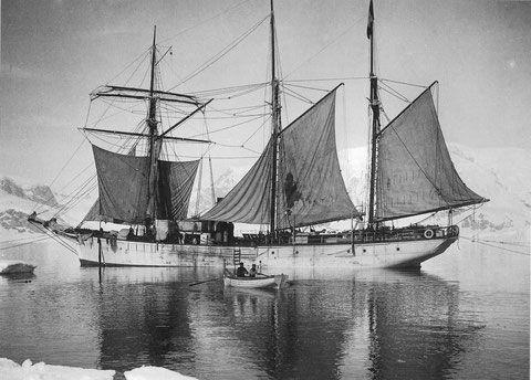 """Le """"Français"""" de Charcot dans les glaces  de l'Antarctique 1903-1905  (Coll part)"""