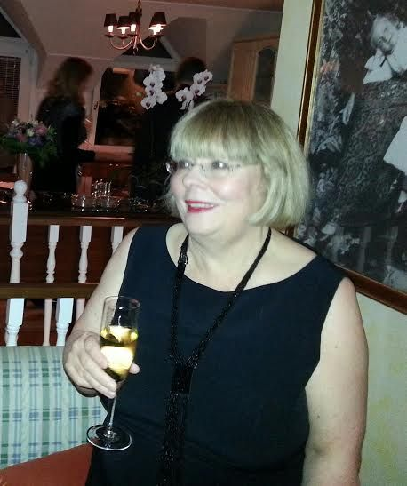 after Ballet Party, House of Marianne Perkin, Budapest [November 2014].