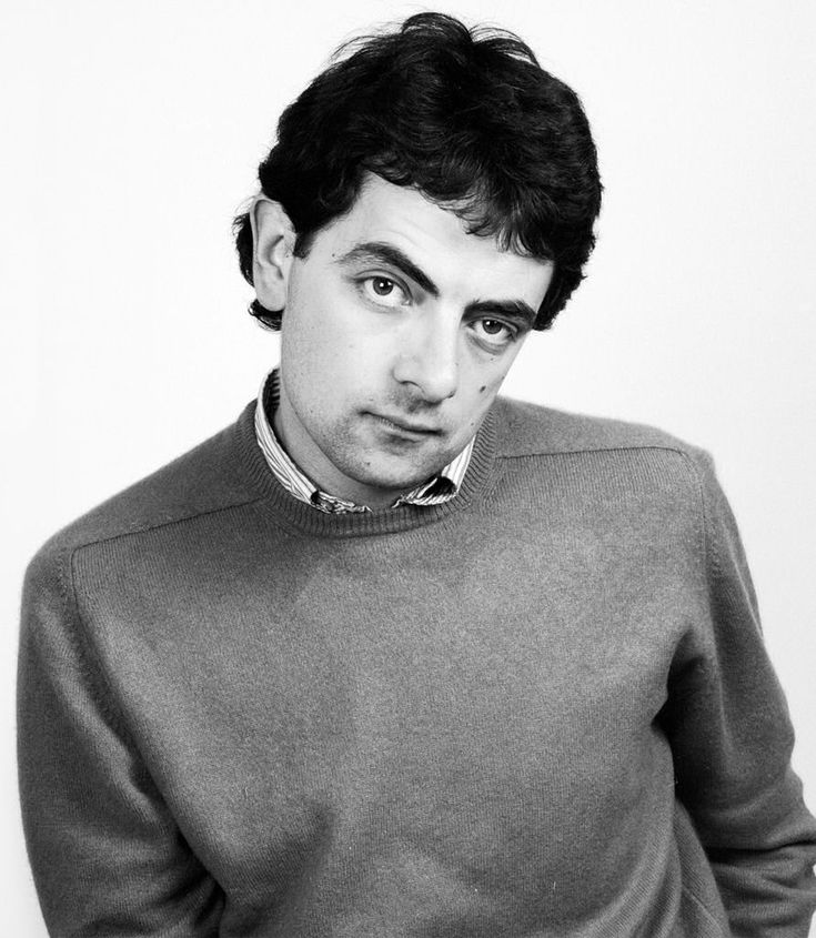 Rowan Atkinson - one of the UK's best known comedians, as a very young man.