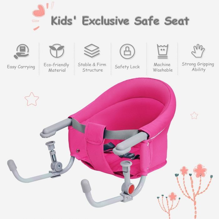 Foldable Portable Hook on Baby Table Chair
