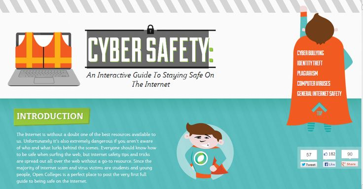 Cyber safety refers to the safe use of ICT equipment or devices and the internet. It is important to keep the internet safe for children and teenagers by incorporating security measures. The internet has illicit content as well as criminals who prey on children and unsuspecting individuals.