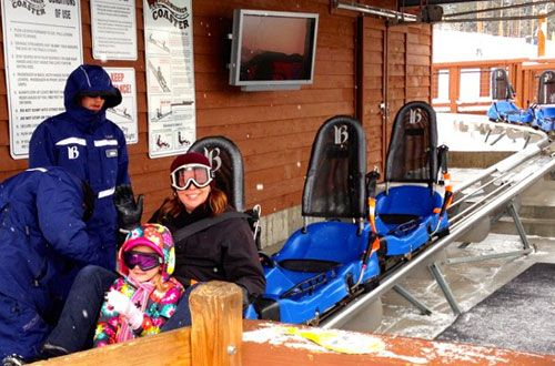 Breckenridge Gold Runner Alpine Coaster - tons of fun and no skis required!