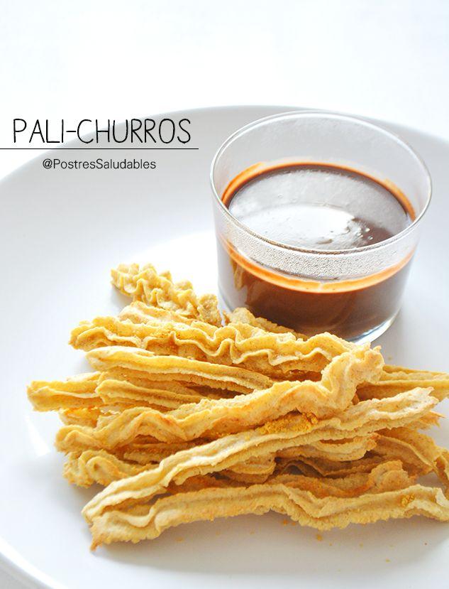 Postres Saludables | Churros caseros y saludables | http://www.postressaludables.com                                                                                                                                                     Más
