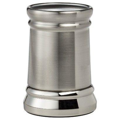 Threshold™ Bathroom Tumbler - Silver Nickel | $9.99