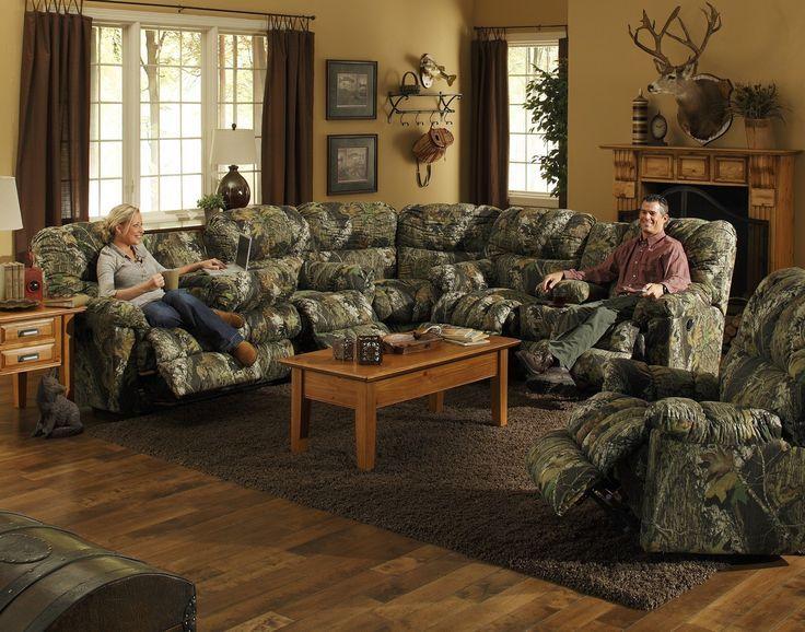 Camo Living Room Furniture Ideas With, Camo Living Room Ideas