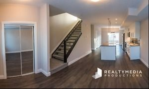 Brand New Townhouses FOR RENT off 124 St. 3 beds & 2.5 bathroom