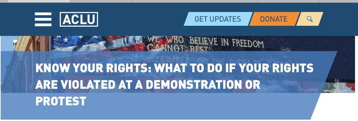 aclu know your rights pdf