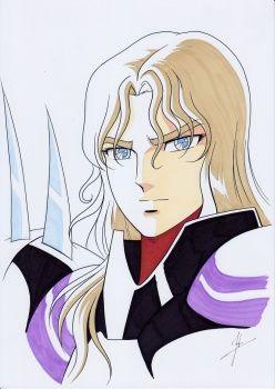 Saint Seiya FanArt - Serie Classica    Sigfried    Dios Guerrero de Asgard