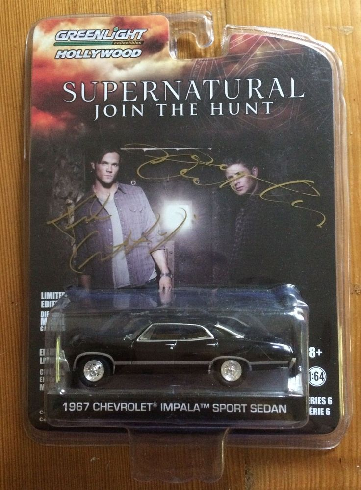 Auction - Supernatural 1 64 Impala Signed by Jensen Ackles Jared Padalecki and Crew | eBay