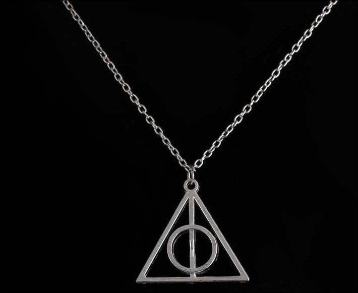 Colar Relíquias da Morte - Harry Potter #Harry #Potter #Necklace #Colar #entregagarantida #prontaentrega #brasil #brazil #lojaotaku #lojanerd #NekoSeville #HarryPotter