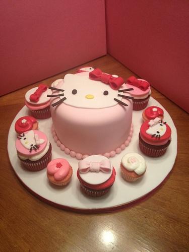 Hello Kitty Cake Sweet Nothings