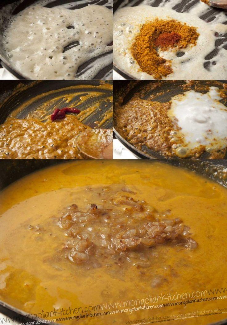Katsu Chicken Recipe with homemade Japanese Coconut Curry Sauce | MongolianKitchen.com (Vegan Curry Sauce)