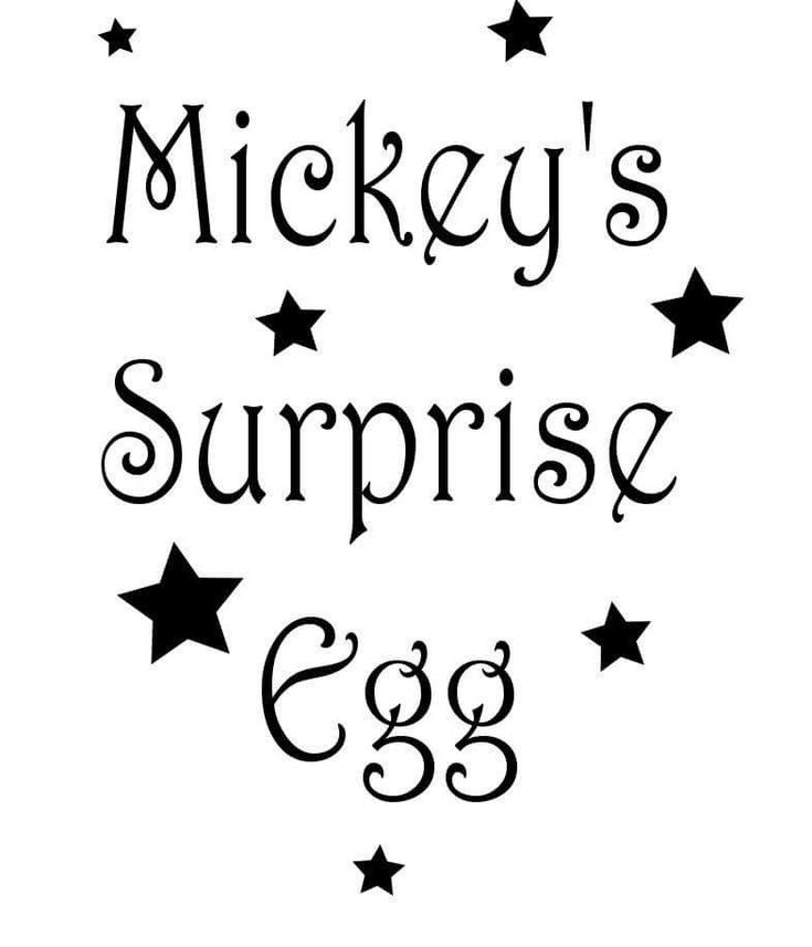 Egg Surprise Name Sticker Decal Craft Easter  | eBay