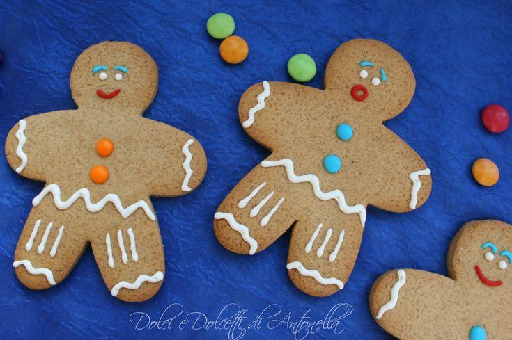 Biscotti Omino pan di zenzero, Ricetta Natale