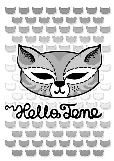 Hello Tene by Vovina666.deviantart.com on @DeviantArt