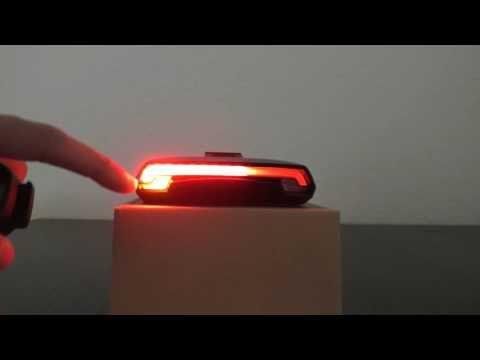 Vorstellung: LED Fahrrad Rücklicht mit Blinker