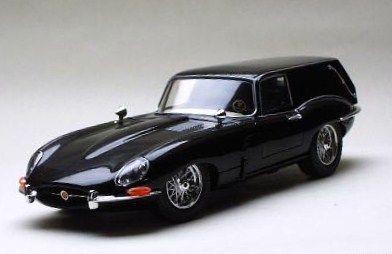 E-type jaguar hearse.