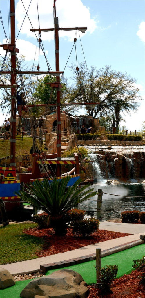Pirates Island Mini-golf in Orange Beach, AL
