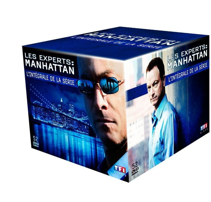Les Experts : Manhattan - L intégrale de la série | SERIE TV | DVD - NEUF