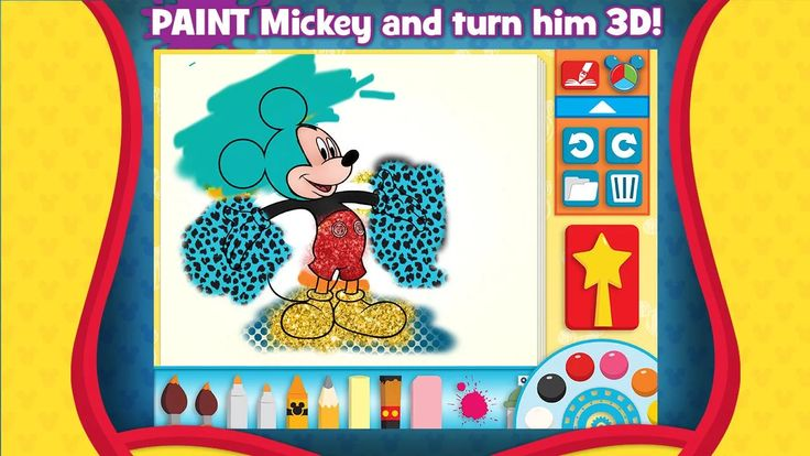 Mickey's Color and Play! – Capture d'écran