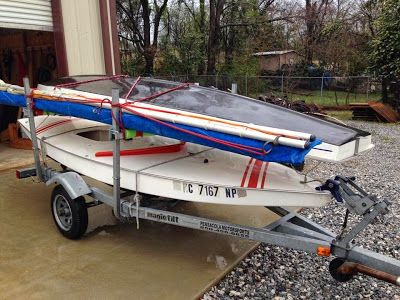 Small Boat Restoration, great blog about sunfish fixer uppers