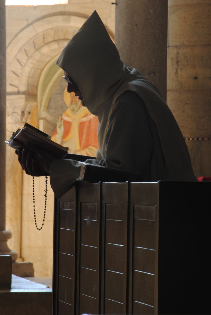 Monk in Tuscany