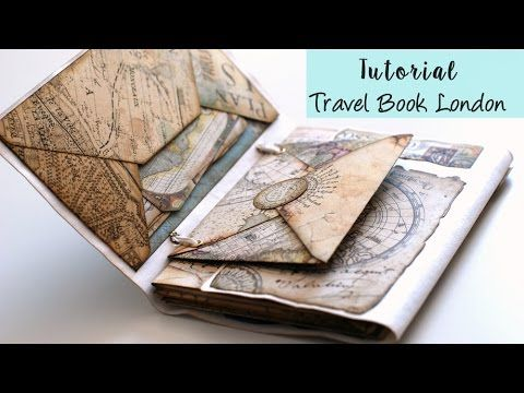 Tutorial Scrap Album/bolso con sobres - YouTube