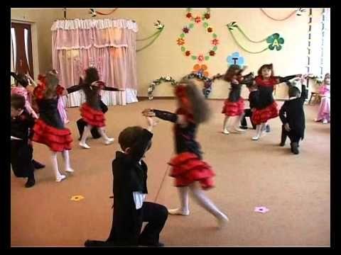 Танго  (средняя группа) в д\с №306 Одесса - YouTube