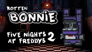 #g33kery #YouTube #fnaf #fnaf2 #bonnie #rotten #hamabead #perlerbead #tutorial #craft