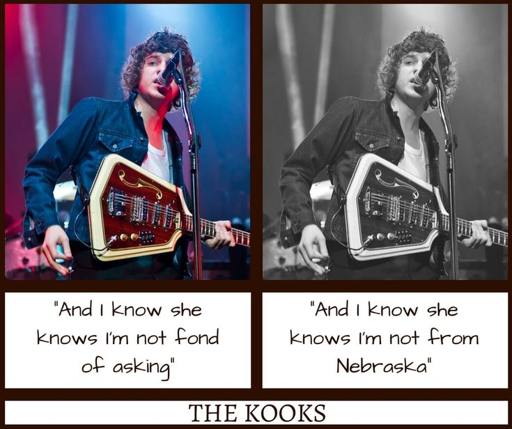 The Kooks Naive Misheard Lyrics