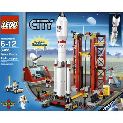 Colton wants this LEGO® City Space Center.  It is all about the Rocket!: Spaces, Toy, Cities, Rocket, Center 3368, Lego City
