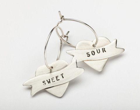 Sweet/Sour earrings