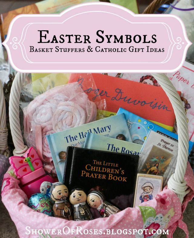 Shower of Roses: Easter Symbols :: More Easter Basket Stuffers & Catholic Gift Ideas {Plus a Basketful of Giveaways!}