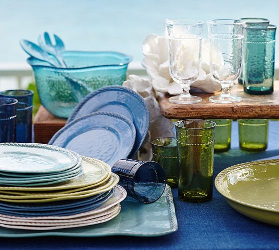 Going Coastal Pottery Barn Part I: 17 Best Ideas About Outdoor Dinnerware On Pinterest