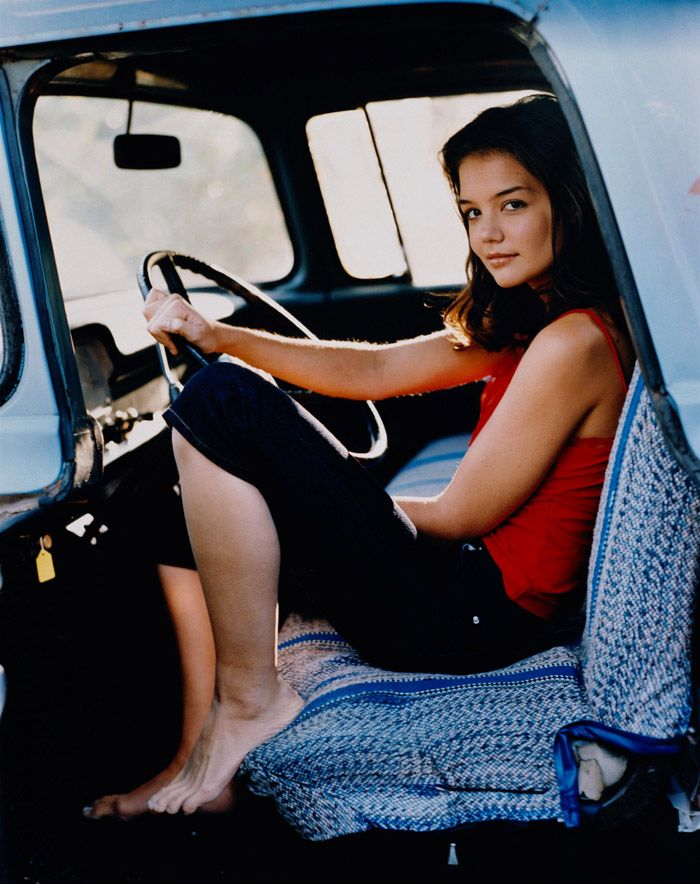 Кэти Холмс (Katie Holmes) в фотосессии Катрин Вессель (Cathrine Wessel) для журналаTV Guide (1999).