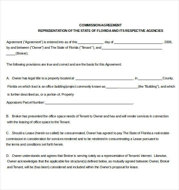 28 Real Estate Commission Statement Template In 2020 Statement