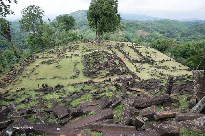 Gunung Padang Megalithic Site, Cianjur  West Java